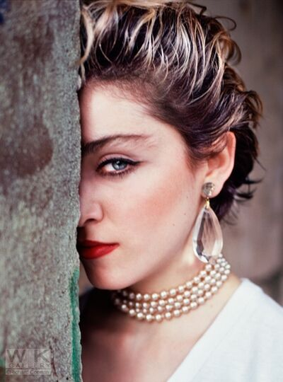Richard Corman, 'Madonna Beauty Wall', 1983