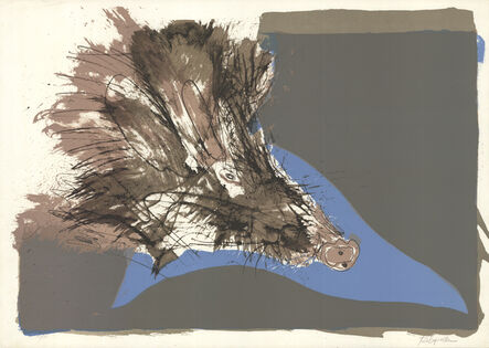 Paul Rebeyrolle, 'The Boar', 1965