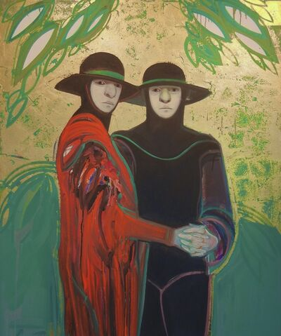 Selina Trieff, 'Two Pilgrims Embracing', 1992
