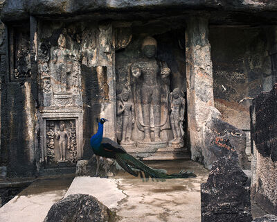 Karen Knorr, 'The Reception of Darshan, Ajanta'