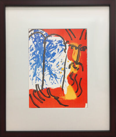 Marc Chagall, 'Moses (I)', 1956