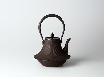 Hata Shunsai, 'Tetsubin with Fuji Design', 2014