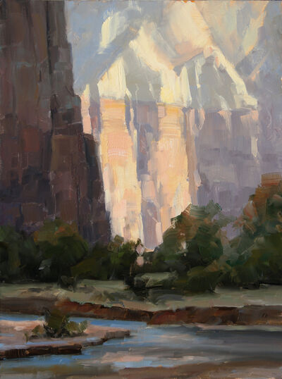 Dave Santillanes, 'Zion Light, Study', 2015
