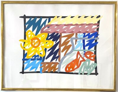 Tom Wesselmann, 'Still Life With Goldfish and Daffodil', 1985