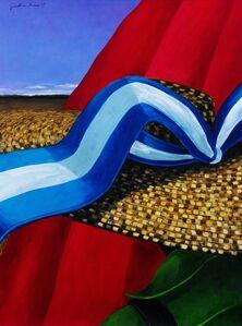 Jonathan Green, 'Red Blanket', 2007