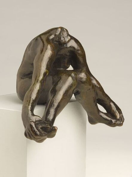 Auguste Rodin, 'Seated Bather with Feet Apart'