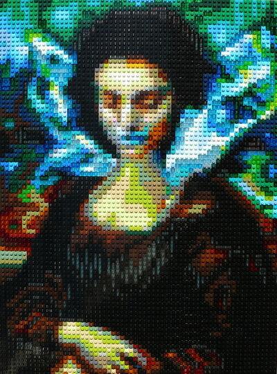 Pauline Aubey, 'Mona Laura (Icon Number 2)', 2020