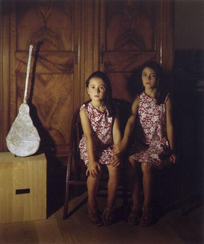 Clegg & Guttmann, 'Portrait of two sisters', 2006