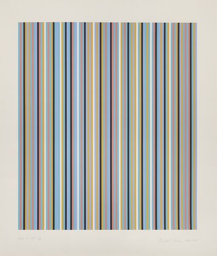 Bridget Riley, 'Edge of Light', 1981-2003