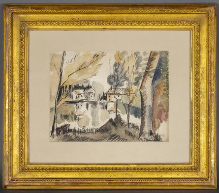 Maurice de Vlaminck, 'Paysage fluvial', Not dated