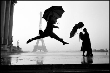 Elliott Erwitt, 'Eiffel Tower 100th anniversary. Paris, France', 1989