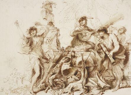 Giovanni Benedetto Castiglione, 'Omnia Vanitas ', ca. 1650-55
