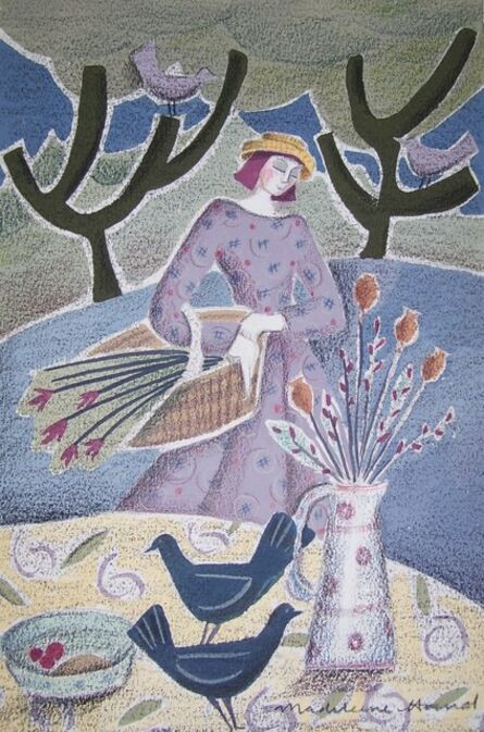 Madeleine Hand, 'Lady Lilac', 2020