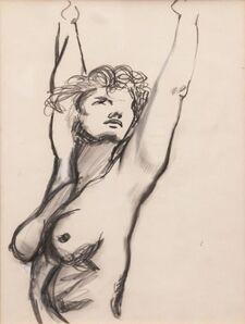 Renato Guttuso, 'Studio di donna nuda', 1920-1987