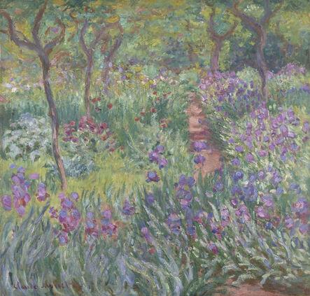 Claude Monet, 'The Artist's Garden in Giverny', 1900