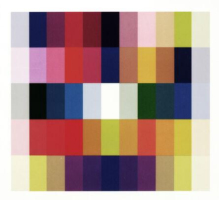 Claudia Angelmaier, '25 Farben I', 2009