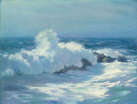 William Partridge Burpee, 'CRASHING WAVES MAINE'