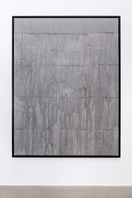 Latifa Echakhch, 'There's Tears / There can be no reconciliation until there is truth', 2015