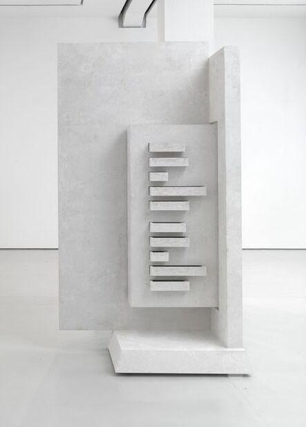 Harald Klingelhöller, 'Cold light on meltung snow, Schrankversion', 2013