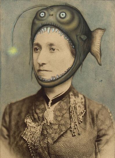 Jana Paleckova, 'Untitled (Woman With Fish Hat)', 2016