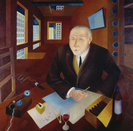 Heinrich Maria Davringhausen, 'The Profiteer (Der Schieber) ', 1920-1921