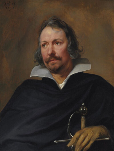 Anthony van Dyck, 'Portrait of a Cavalier', 1634