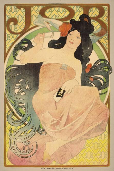 Alphonse Mucha, 'Job', 1898