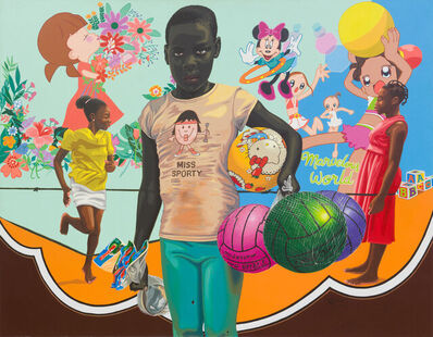 William Tagne Njepe Twilliam, 'Enfance Volée 1993 C 02 (La Petite Anita)', 2021