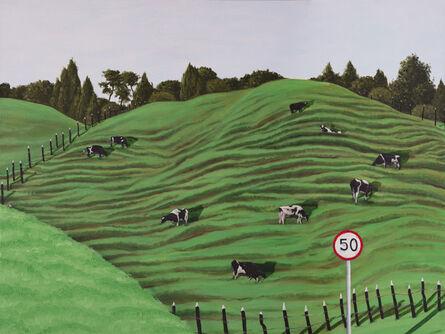 Esteban Ocampo Giraldo, 'Vacas Pastando (Cows Pasturing)', 2020
