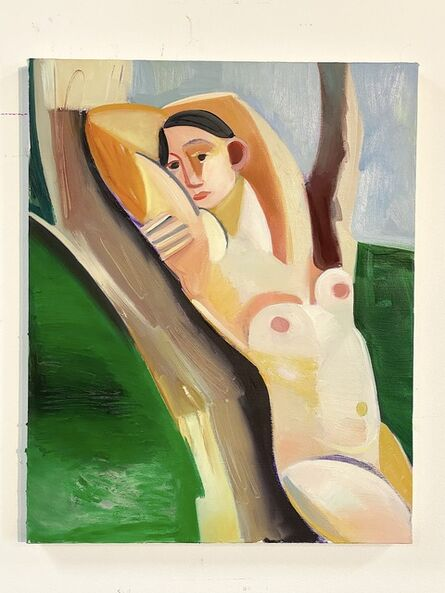 Danielle Orchard, 'Woman Leaning on Tree', 2019
