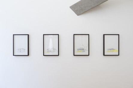 Adrien Tirtiaux, 'Prouvé au vent', 2017-2018