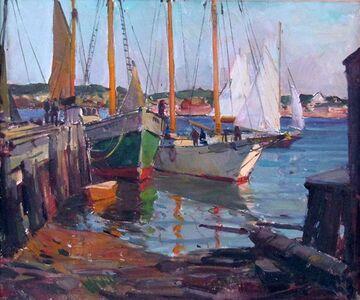 Carl Peters, 'Rockport Harbor', ca. 1960