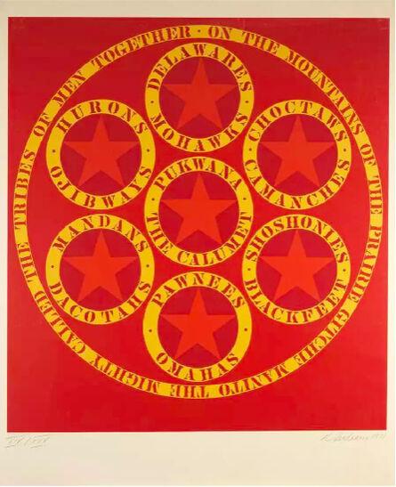 Robert Indiana, 'Decade X', 1971