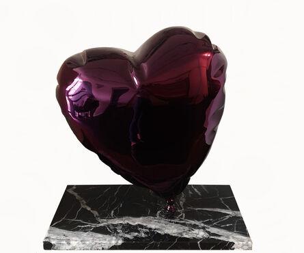 Mr. Brainwash, 'Heart Balloon(Chrome Purple)', 2021