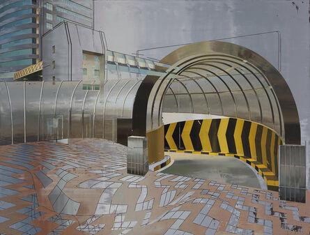 Cui Jie (b. 1983), 'Entrance to Parking Lot', 2014