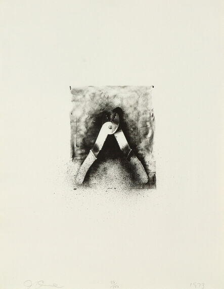 Jim Dine, 'Ten Winter Tools (Strip Pliers)', 1973