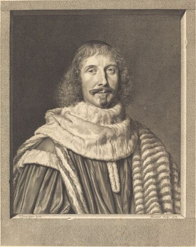 Robert Nanteuil after Philippe de Champaigne, 'Pompone II de Bellievre', 1653