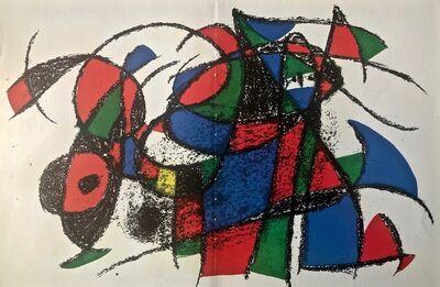 Joan Miró, 'Original Lithograph IV', 1975