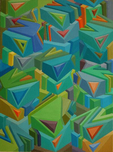 Ho Sik Sin, 'Random pyramid 1', 2014