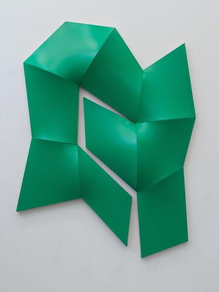 Jan Maarten Voskuil, 'Improved Dynamic Monochrome green', 2015