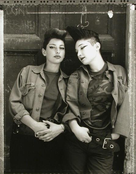 Marsha Burns, 'Manuella & Christiana, Rome', no date