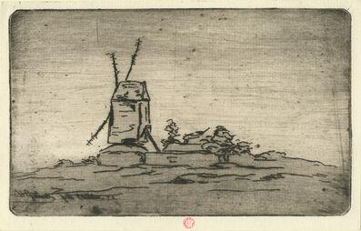 Henri-Charles Guérard, 'Prés Caudebec', 1873