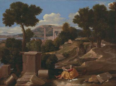 Nicolas Poussin, 'Landscape with Saint John on Patmos', 1650
