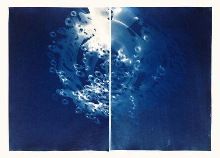 Vanessa Albury, 'Light Shadowgraphs (Chandelier XXIV + XXXV from the Cameraless, Lensless series)', 2014-2016