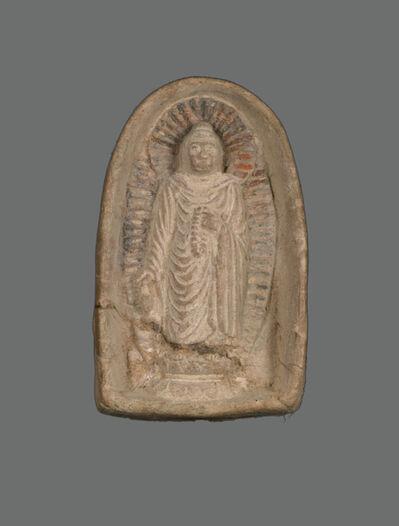 'Standing Buddha', Tang dynasty (618–907)