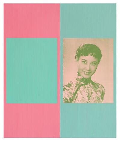 David Diao, 'My Favorite Image of Her', 2016