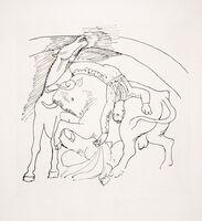 Pablo Picasso, 'Taureau et Cheval, 1921', 1979-1982