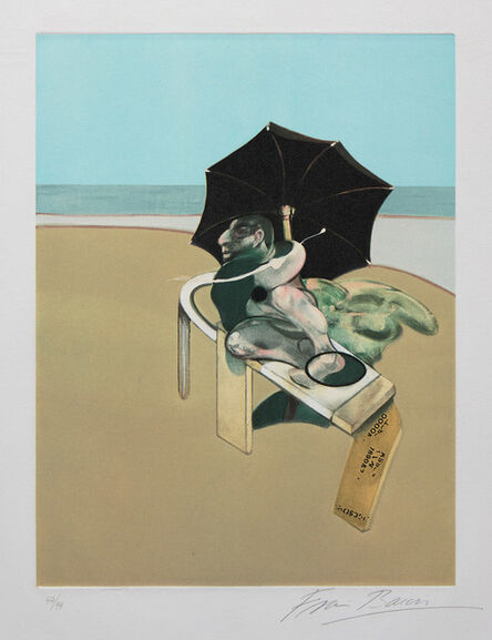 Francis Bacon, 'From Metropolitan Triptych', 1981