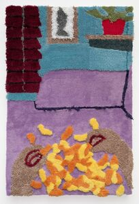 Jessica Campbell, 'Eating Cheesies off of the Couch', 2019