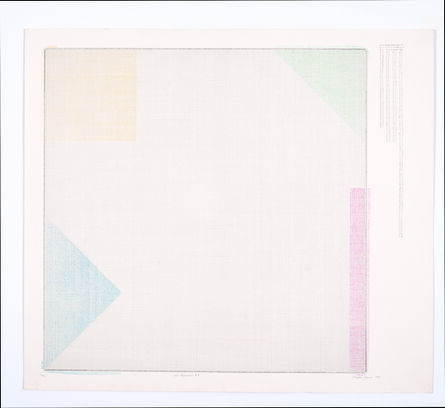Charles Gaines, 'Color Regression #1', 1978